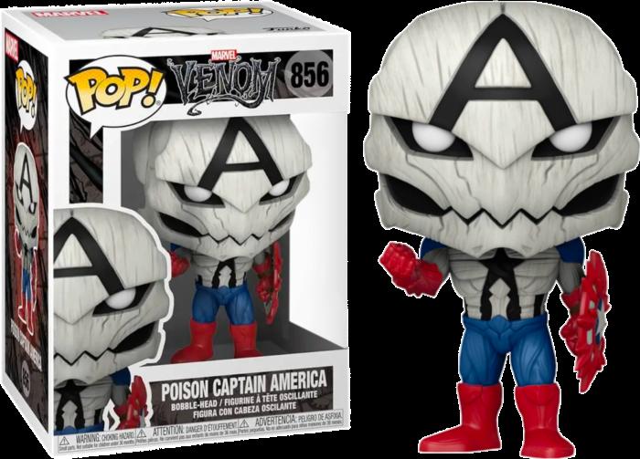 Venom - Poison Captain America Pop! Vinyl Figure