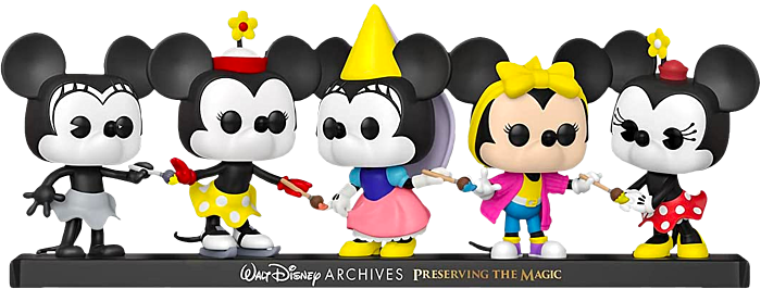 Pre-Order: Mickey Mouse - Minnie Mouse Disney Archives Pop! Vinyl Figure 5-Pack