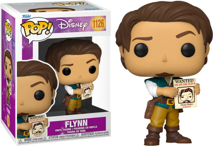 Pre-Order: Tangled - Flynn with Wanted Poster Pop! Vinyl Figure
