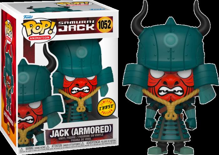 Pre-Order: Samurai Jack Chase - Jack Armoured Pop! Vinyl Figure Bundle (set of 6)
