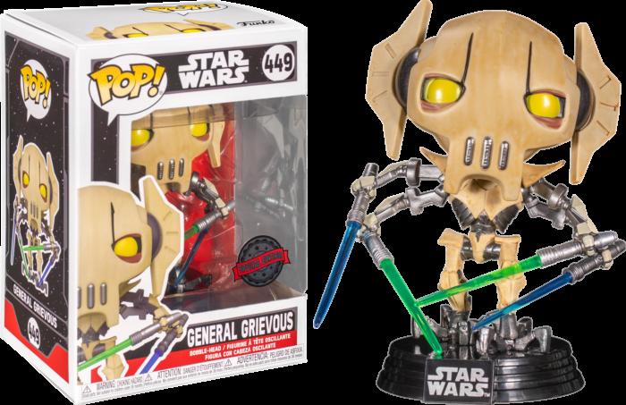 Star Wars - General Grievous with Four Lightsabers Pop! Vinyl Figure