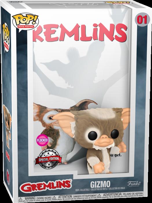 Pre-Order: Gremlins - Gremlins Flocked Pop! Movie Cover Vinyl Figure