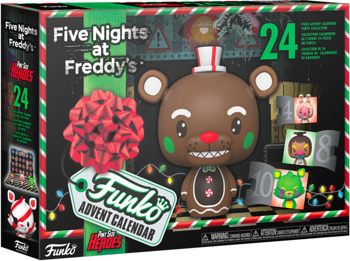 Pre-Order: Five Nights at Freddy's - Pint Sized Heroes Advent Calendar