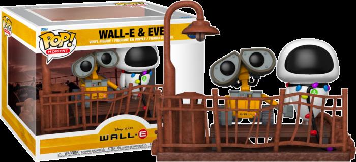 Pre-Order: Wall-E - Wall-E & Eve Movie Moment Pop! Vinyl Figure 2-Pack