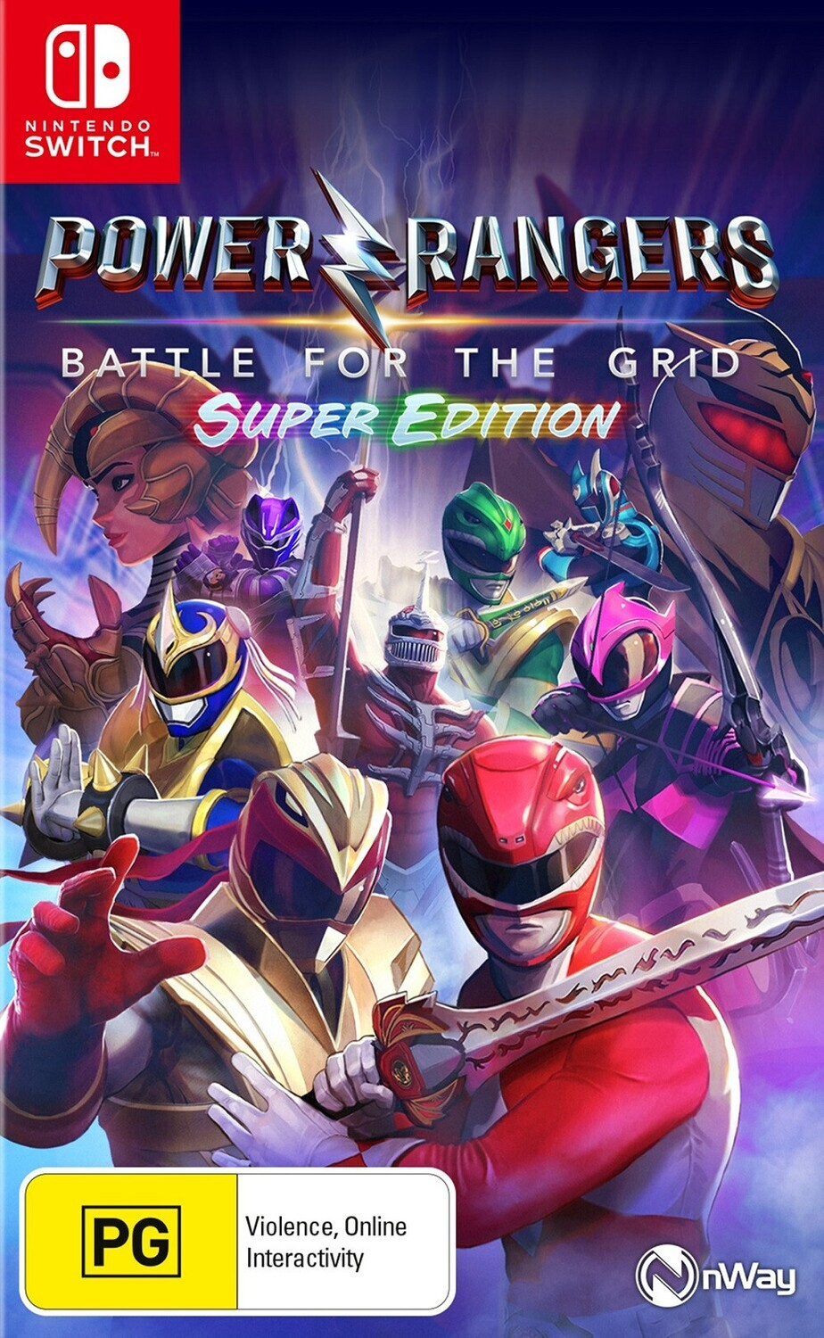 SWI Power Rangers: Battle For The Grid - Super Edition