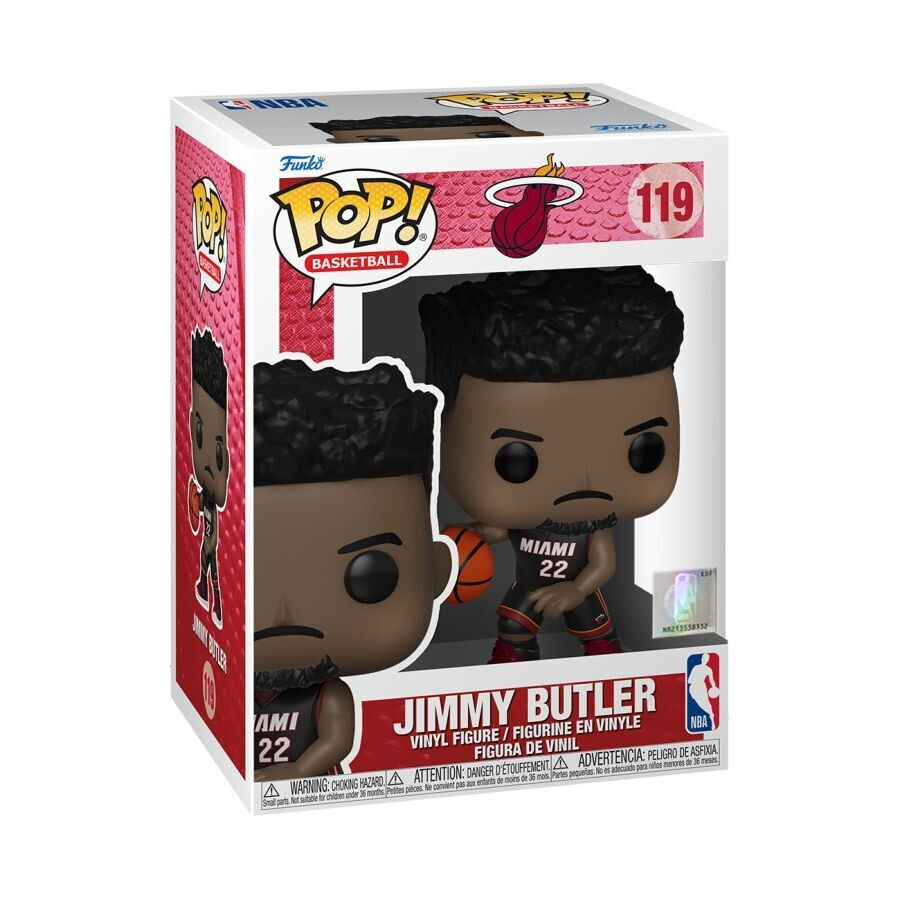 Pre-Order: NBA: Heat - Jimmy Butler Black Jersey Pop! Vinyl Figure