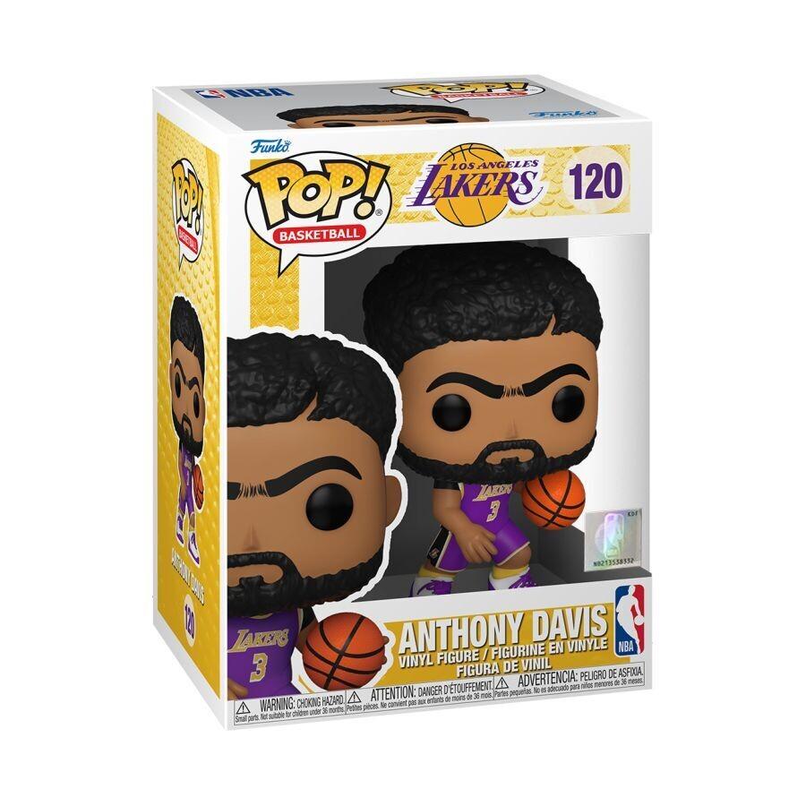 Pre-Order: NBA: Lakers - Anthony Davis Purple Jersey Pop! Vinyl Figure
