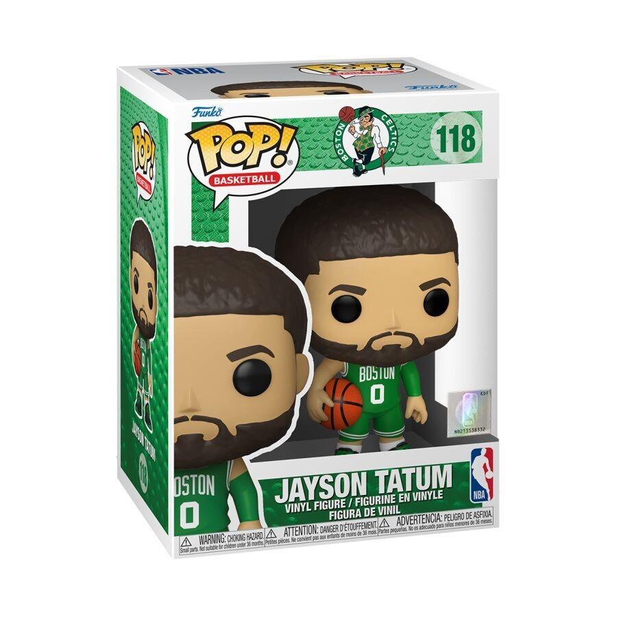 Pre-Order: NBA: Celtics - Jayson Tatum Green Jersey Pop! Vinyl Figure