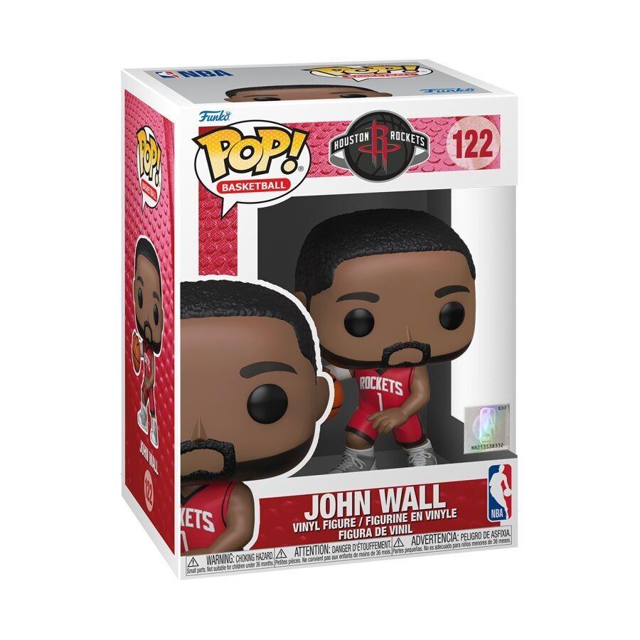 Pre-Order: NBA: Rockets - John Wall (Red Jersey) Pop! Vinyl Figure