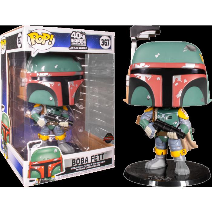 """Star Wars - Boba Fett 10"""" Pop! Vinyl Figure"""