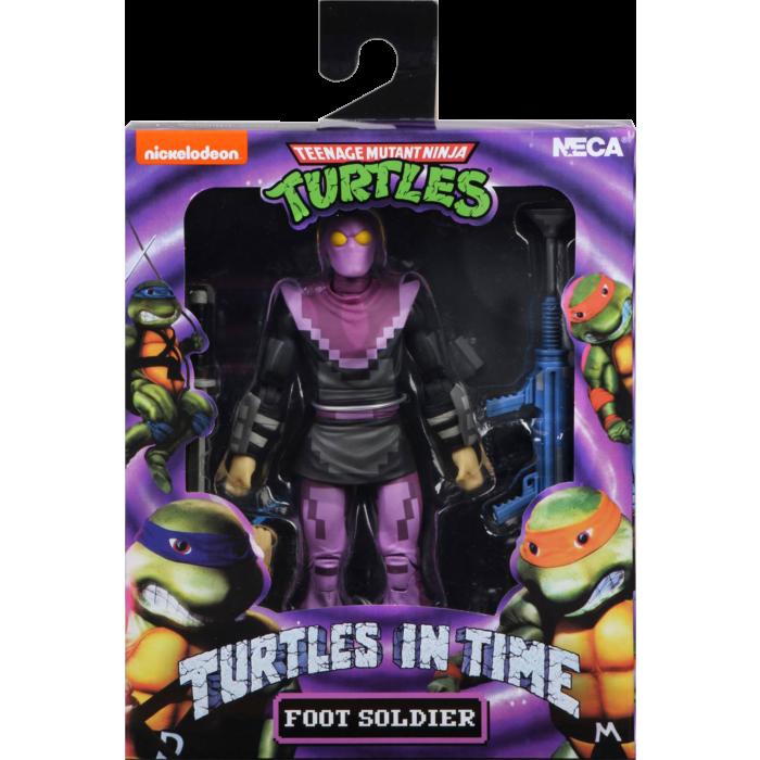 """Teenage Mutant Ninja Turtles: Turtles in Time - Foot Soldier 7"""" Action Figure"""