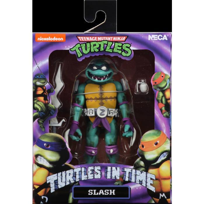 """Teenage Mutant Ninja Turtles: Turtles in Time - Slash 7"""" Action Figure"""