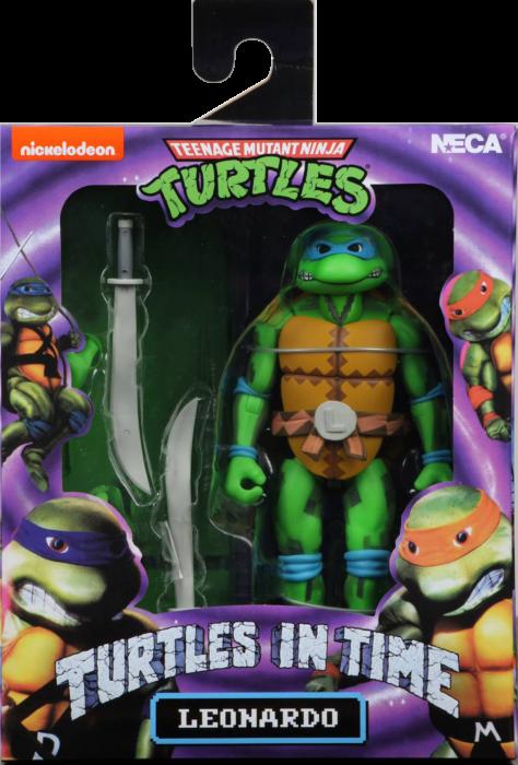 """Teenage Mutant Ninja Turtles: Turtles in Time - Leonardo 7"""" Action Figure"""