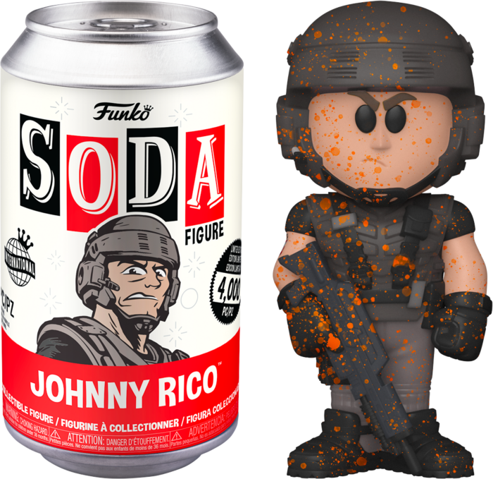 Starship Troopers - Johnny Rico Vinyl SODA Figure in Collector Can (International Edition)