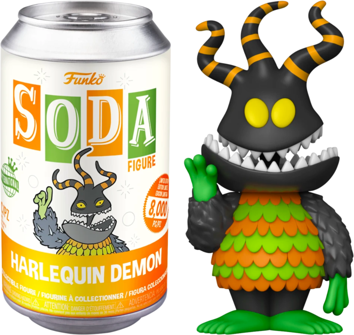 The Nightmare Before Christmas - Harlequin Demon Vinyl SODA Figure in Collector Can (International Edition)