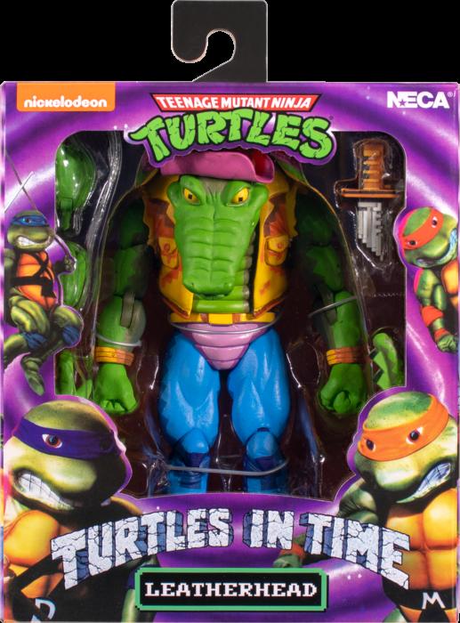"""Teenage Mutant Ninja Turtles: Turtles in Time - Leatherhead 7"""" Action Figure"""