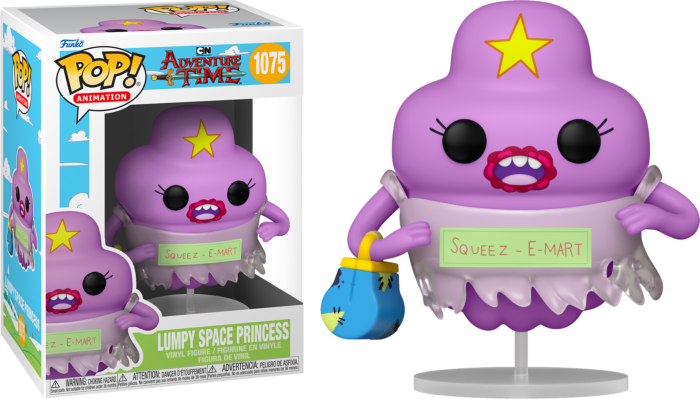 Pre-Order: Adventure Time - Lumpy Space Princess Pop! Vinyl Figure