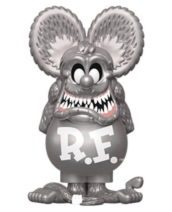 Rat Fink - Rat Fink Neon Vinyl Soda Figure in Collector Can