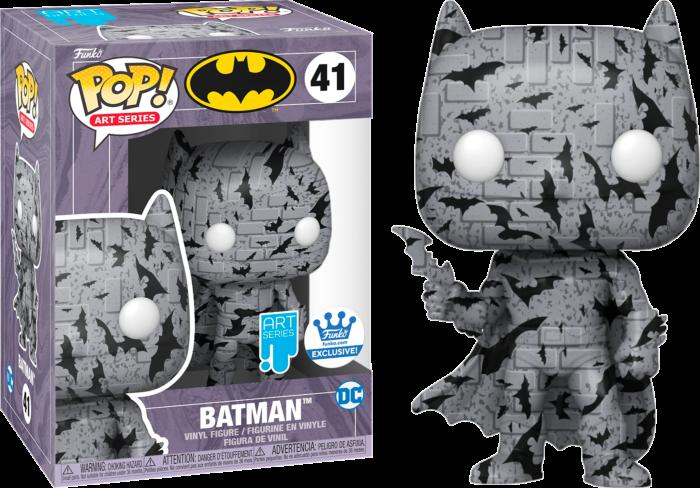 Batman - Batman Day Artist Series Pop! Vinyl Figure with Pop! Protector (Funko Exclusive)