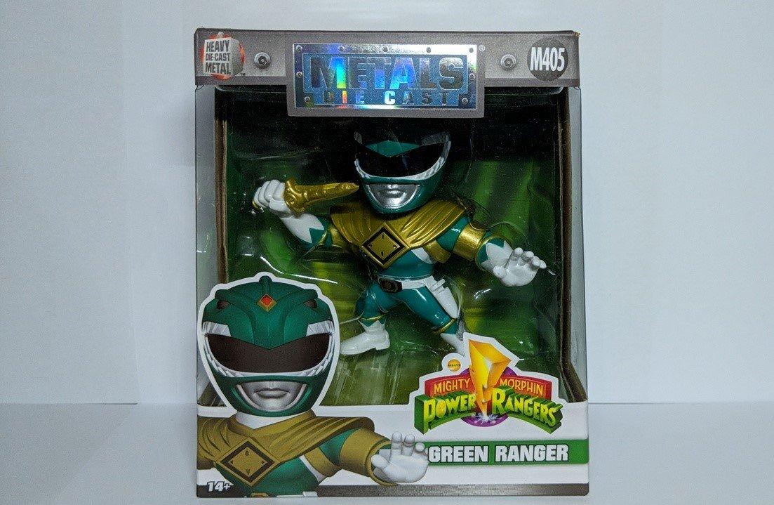 Mighty Morphin Power Rangers: Green Ranger Metals Die Cast Jada