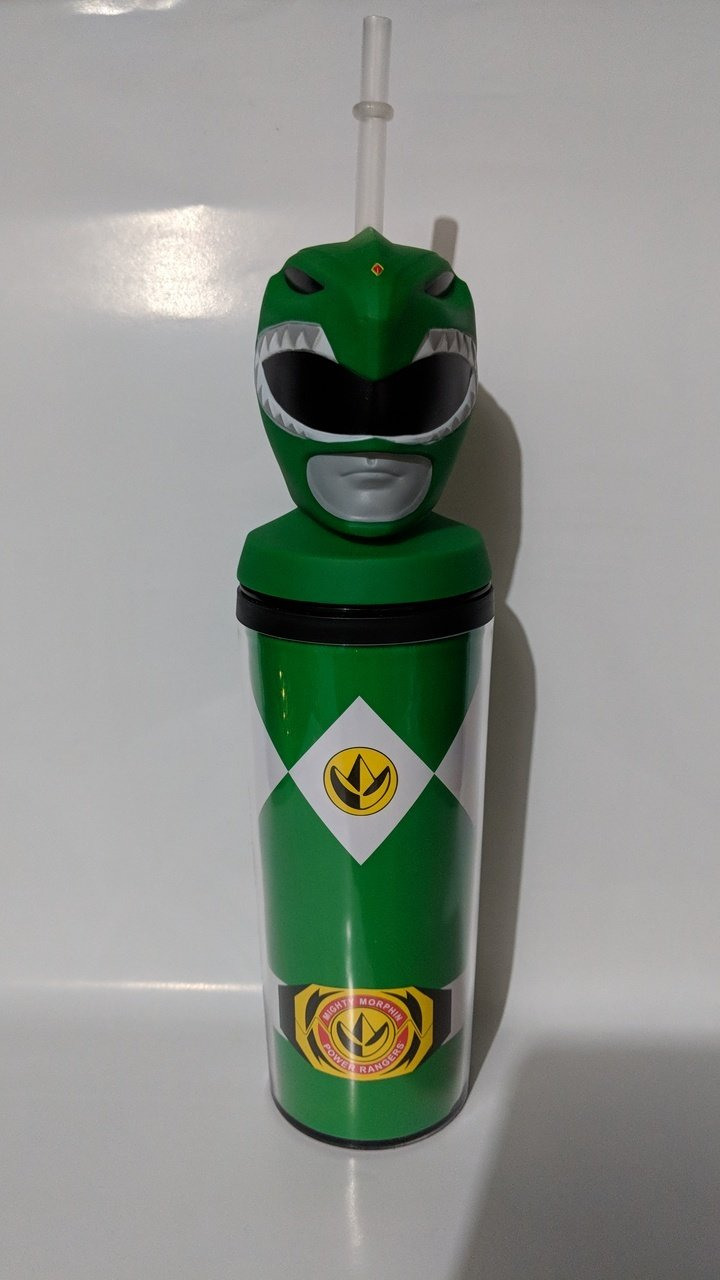 Mighty Morphin Power Rangers- Green Ranger Drink Water Bottle