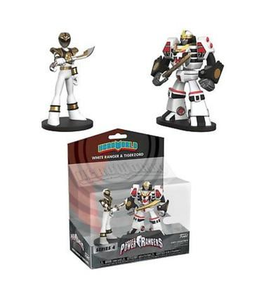 Mighty Morphin Power Rangers tigerzord and white ranger hero world