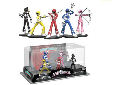 Mighty Morphin Power Rangers hero world 5 rangers