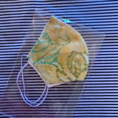 Yellow Batik Mask