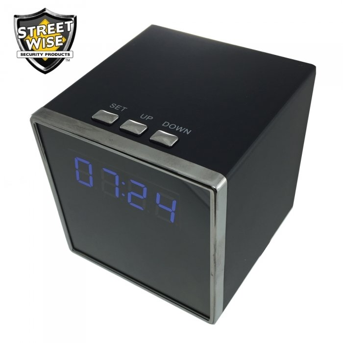 Streetwise Cube Clock DVR Camera