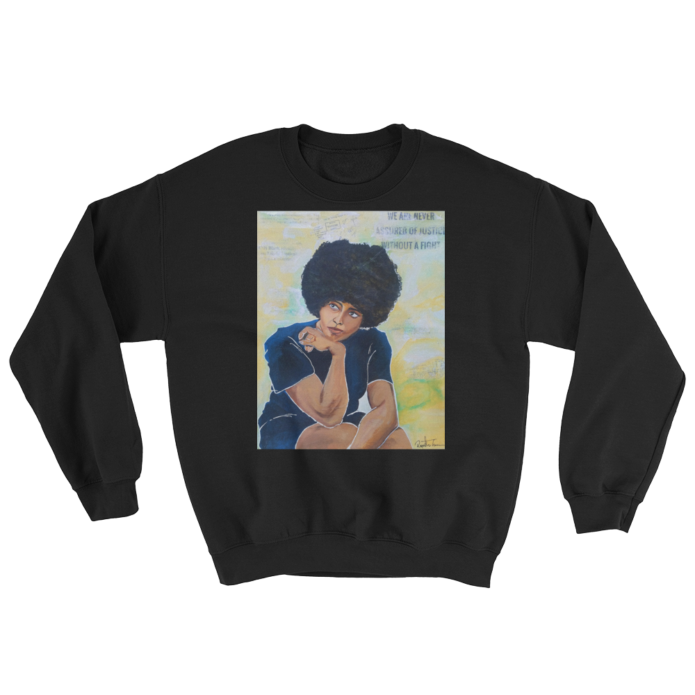 """""""If they come in the m morning"""" crew neck"""