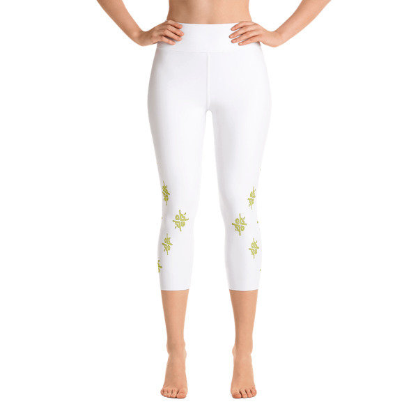 UR Gold Yoga Capri Leggings