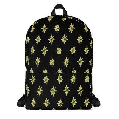 Reverse Gold Laptop Backpack