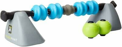 TriggerPoint STK Fusion Recovery System Handheld Massage Stick and Stands