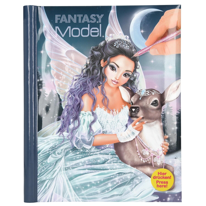 TOPModel Fantasy Альбом для раскрашивания с музыкой и подсветкой Ледяная принцесса