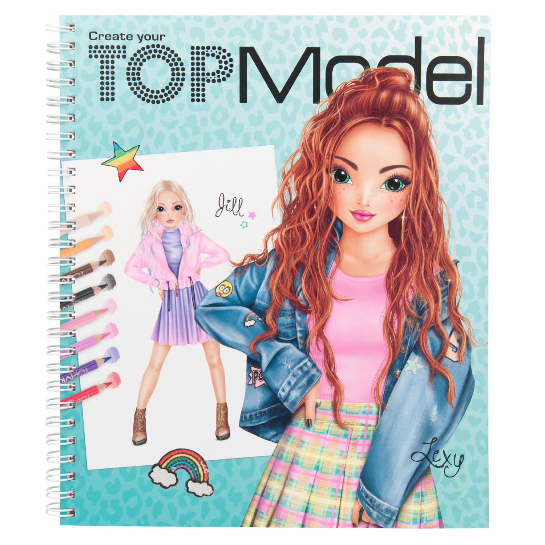 TOPModel Альбом для раскрашивания Моя ТОПМодель