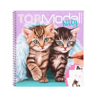 TOPModel Альбом для раскрашивания Котята
