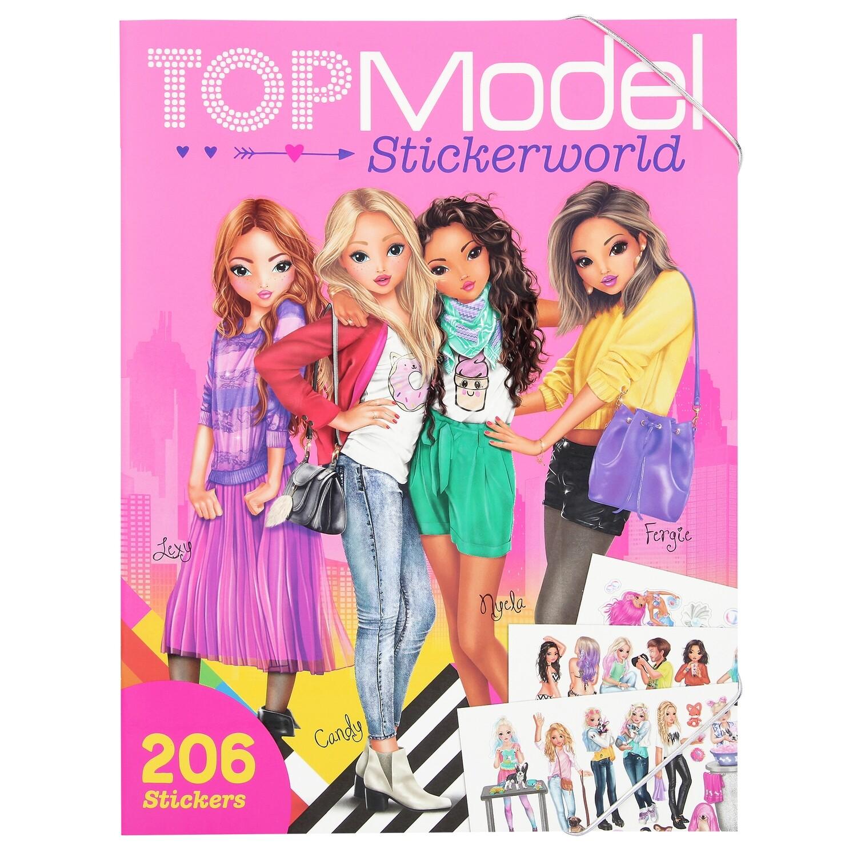 TOPModel Альбом с наклейками Мир ТОПМоделей
