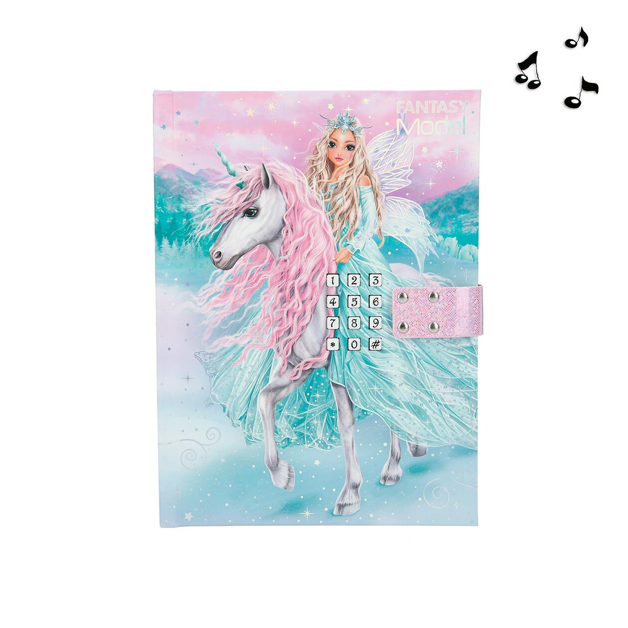 TOPModel Fantasy Дневник с кодом и музыкой ICEFRIENDS