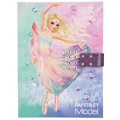 TOPModel Fantasy Дневник с кодом и музыкой Балерина