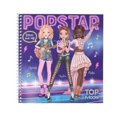 TOPModel Альбом с наклейками Наряди Меня ПОП-Звезда