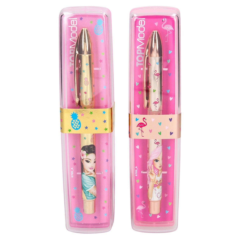 TOPModel Ручка в подарочной упаковке (желтое золото)