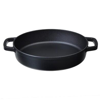 Сковорода-жаровня чугунная 24х5 см 808-036