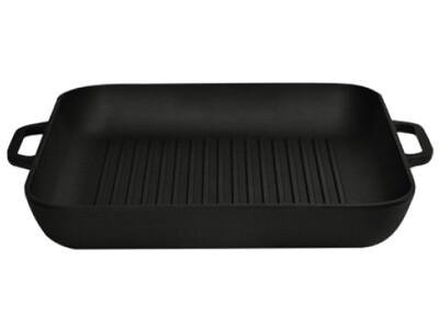 Сковорода-гриль чугунная 280х280*40 мм СГ2840