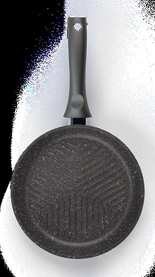 Сковорода-гриль 260/60-мм сгр260