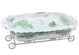 Мармит керам.с крышкой R-155013
