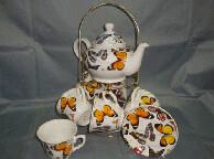 Набор чайный Бабочки M13-GRH-102/6