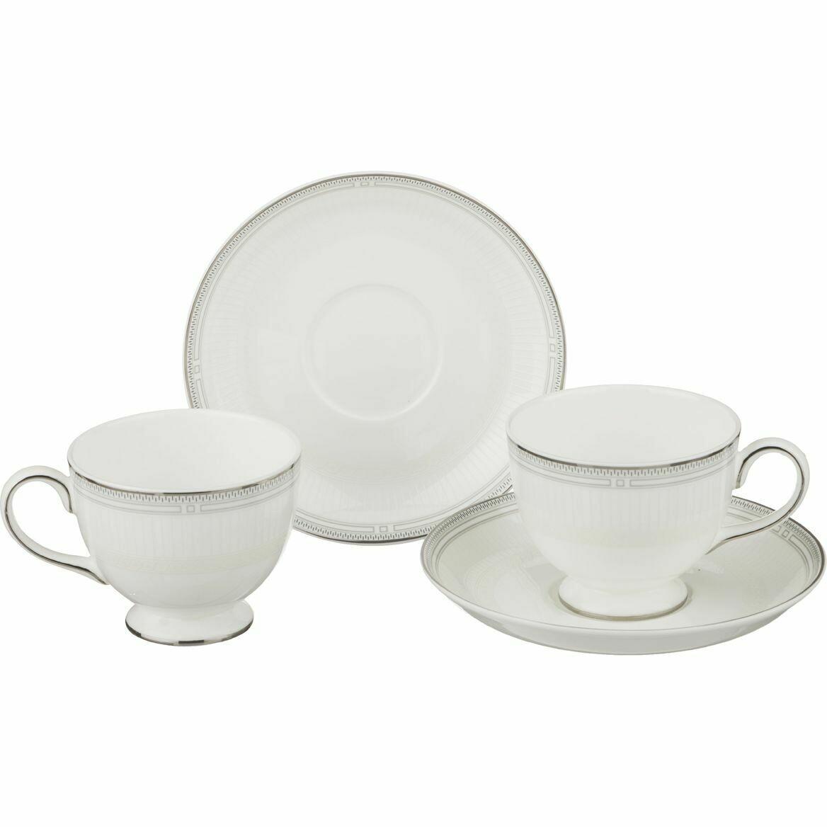 Чайный набор Грэй на 2 персоны 4пр. 250мл 22-108