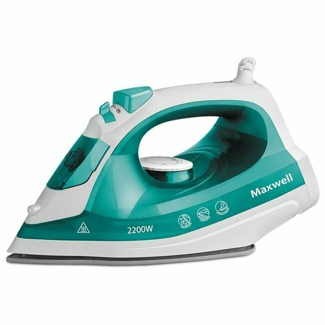 Утюг Maxwell MW-3039 2200 Вт зеленый