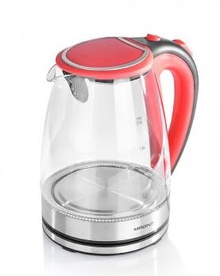Чайник электрический Magnit RMK-3702 2л стекло чер