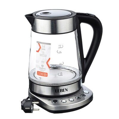 Чайник электрический 1.7 л 291-074
